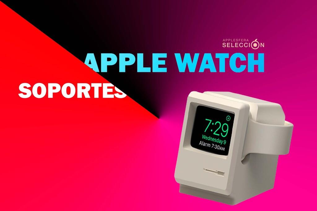 Dale a tu nuevo <strong>Apple℗</strong> Watch Series 7 una «cama» con uno de estos nueve soportes para mesita de noche y escritorio»>     </p> <p>El <a href=