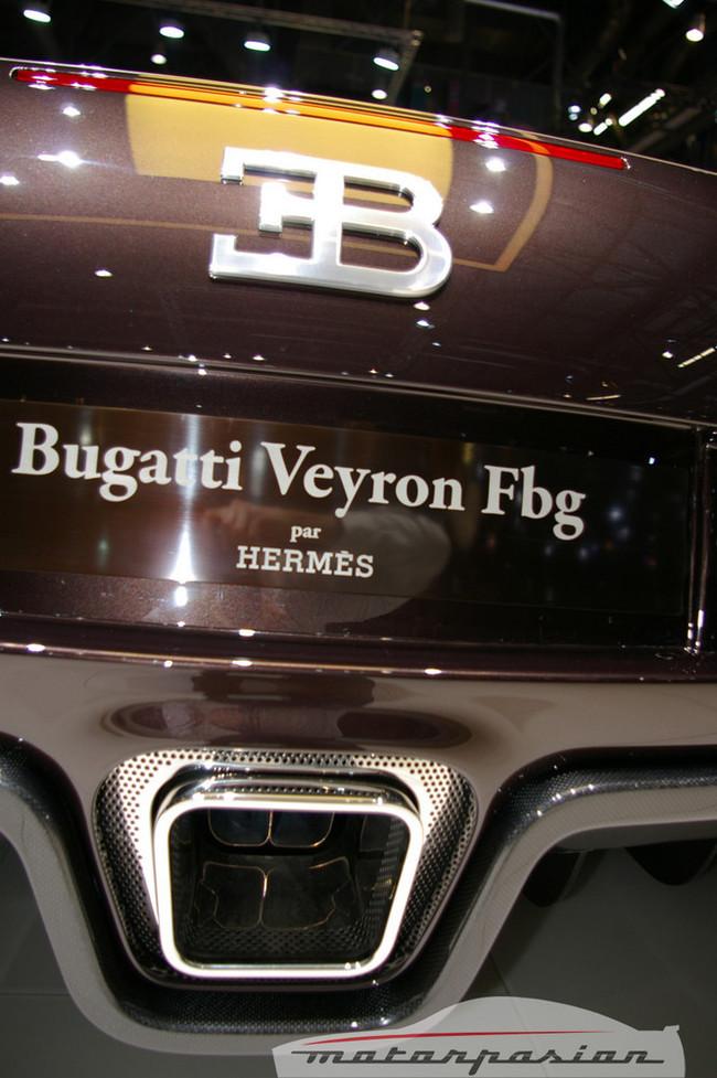 Foto de Bugatti Veyron Hermès en el Salón de Ginebra (17/24)