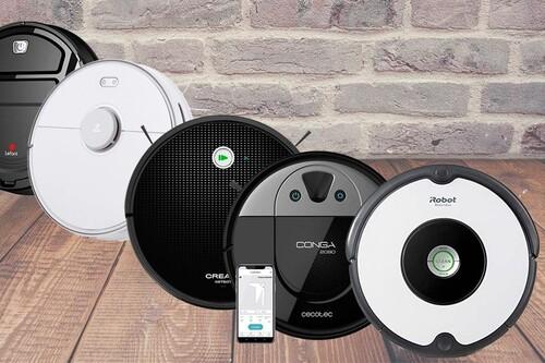 Los robots aspiradores más vendidos en Amazon: Roomba, Xiaomi y Conga