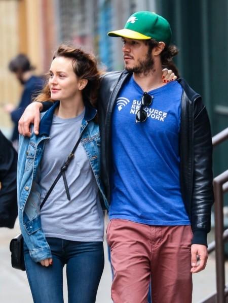 Un día cualquiera, una pareja no cualquiera: Leighton Mesteer y Adam Brody