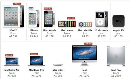 Ya es viernes en Australia, ya sabemos los descuentos del Black Friday de Apple
