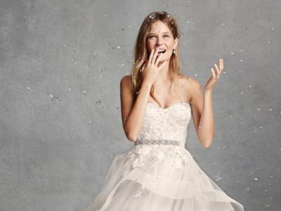 """Monique Lhuillier y sus vestidos de novia """"low cost"""""""