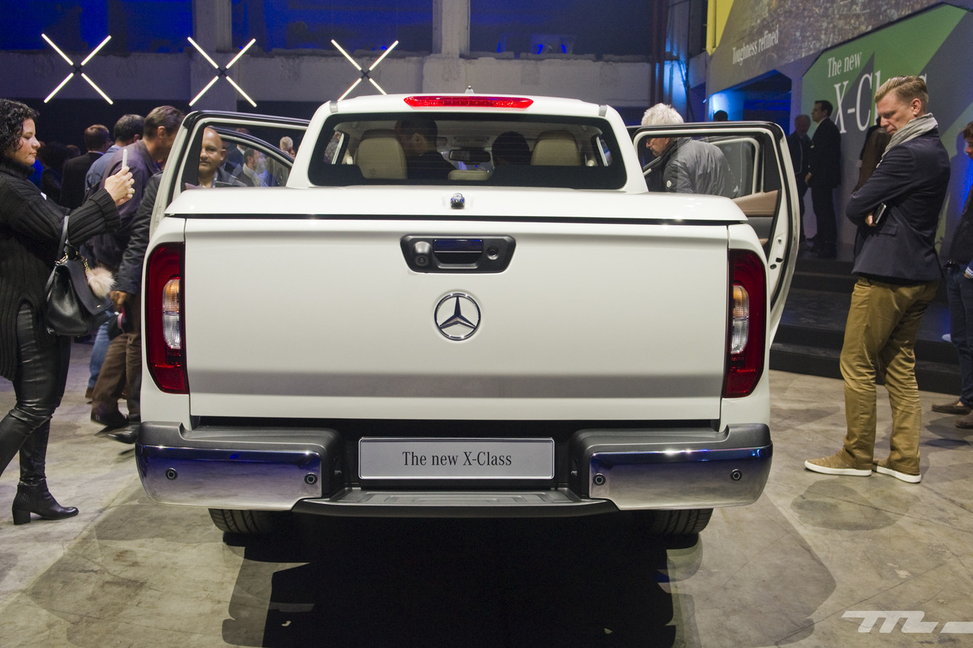 Foto de Mercedes-Benz Clase X, primeras impresiones (8/70)