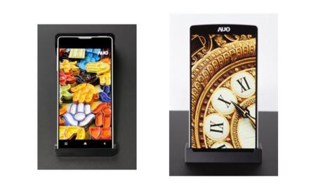 AU Optronics presenta su pantalla con un milímetro de borde, también paneles IGZO, AMOLED y AHVA