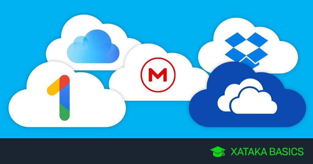 Google One, Dropbox, OneDrive, iCloud y todas las opciones, frente a frente