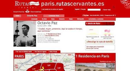 """Las """"Rutas Cervantes"""" por París"""