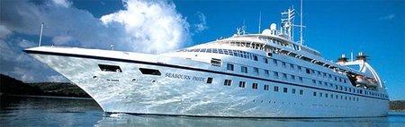 Los barcos de vacaciones Seabourn