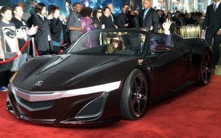 El Acura NSX protagonista en la presentación de Los Vengadores