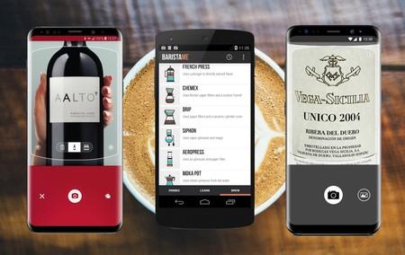 Café, queso y vino: 11 aplicaciones para sibaritas de la comida y la bebida