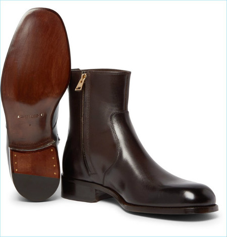 Tom Ford Icon Wilson Leather Boots