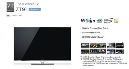 Panasonic abandonará el negocio del televisor de plasma en marzo de 2014