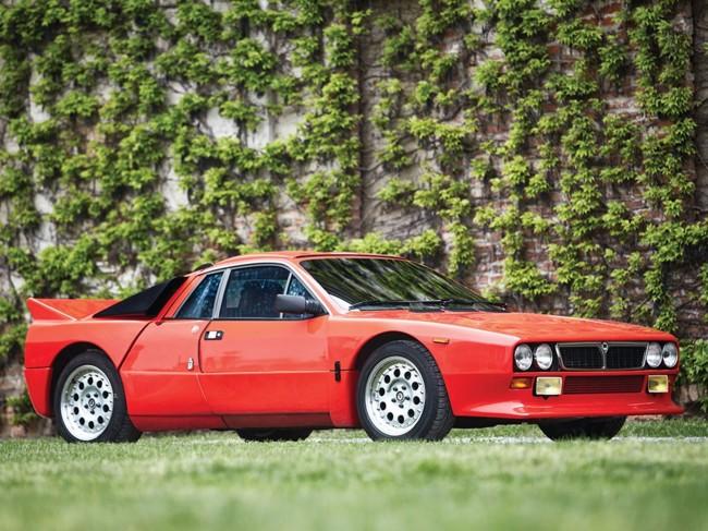 A subasta este impresionante Lancia 037 Stradale