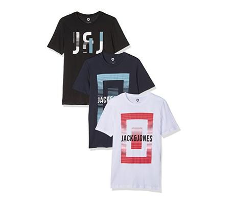 38811da50e5cc Oferta camisetas Jack   Jones el pack de 3 por sólo 16