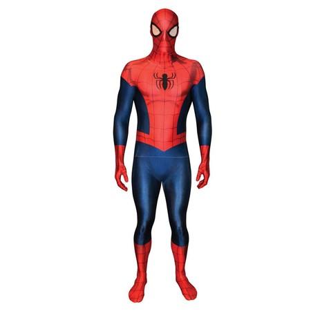 Quien compre ahora para Halloween ahorrará dinero: disfraz   Morphsuits  de Spider-Man  por 33,45 euros en Amazon