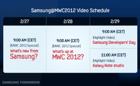 Samsun MWC 2012