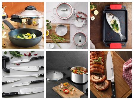 Ofertas de menaje de primeras marcas en El Corte Inglés: sartenes, ollas, cacerolas y cuchillos con hasta un 40% de descuento
