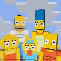 ¡Mosquis! Los Simpson invadirán Minecraft