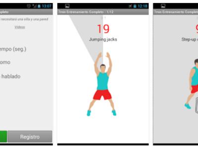 Tres aplicaciones móviles que te ayudarán a entrenar en sólo 7 minutos