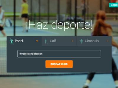 Cloobing, la app para buscar gimnasio y reservar recintos deportivos