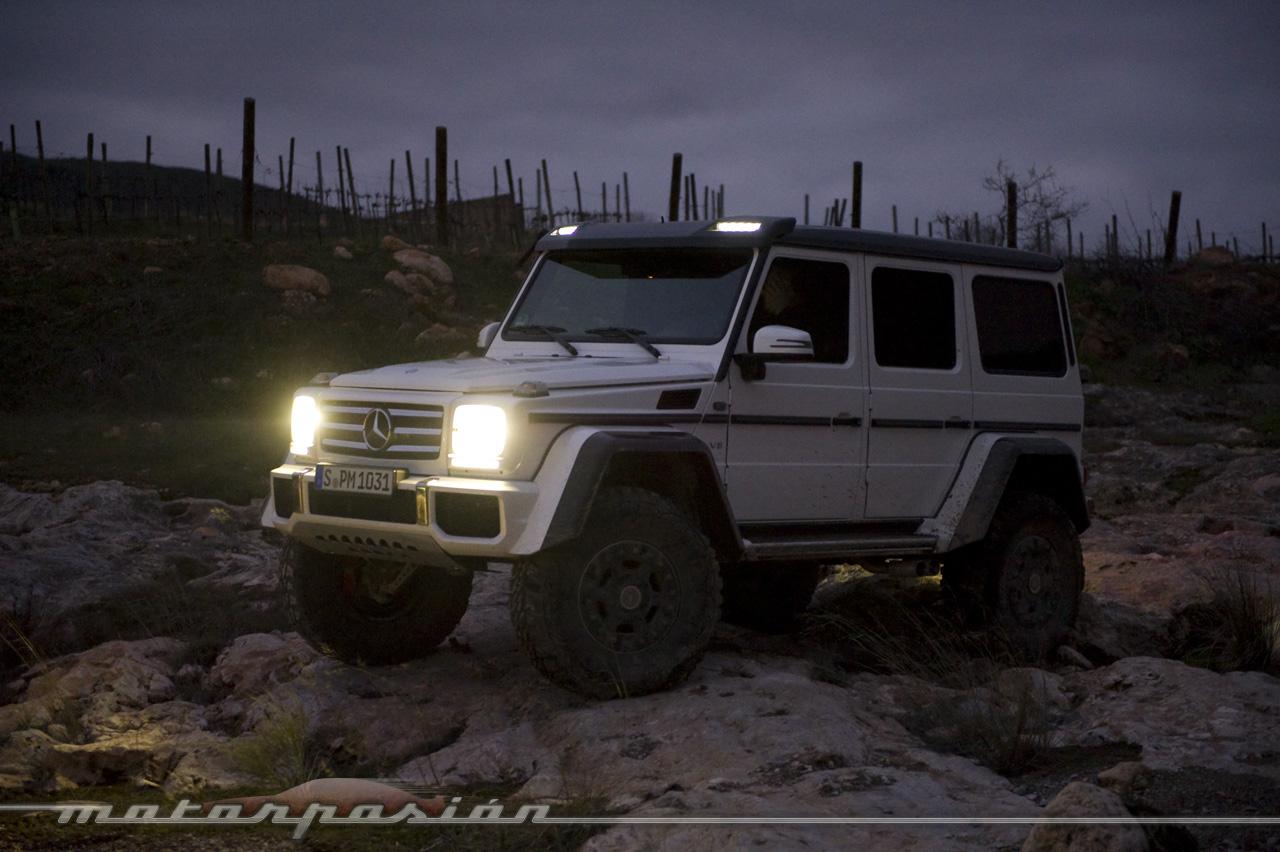 Foto de Mercedes-Benz G 500 4x4², toma de contacto (127/127)