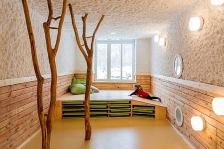 Espacios amplios y decoración inspirada en la Naturaleza: así son los Kindergarten de Drachenreiter