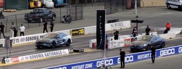 Lucid Car presume en vídeo de una bestial aceleración comparándose directamente con el Tesla Model S Performance