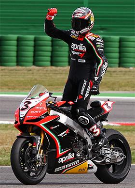 Max Biaggi Campeón del Mundo de Superbikes