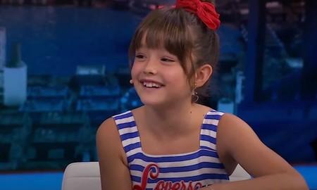 """""""No tengo novio, ¡que tengo nueve años!"""", la genial respuesta de Luna Fulgencio a la pregunta absurda del presentador Pablo Motos"""