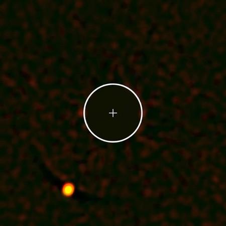 SPHERE capta este exoplaneta único con una imagen directa