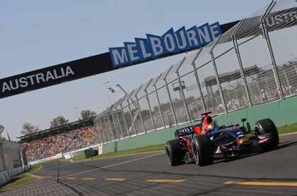La F1 seguirá visitando Melbourne hasta 2015