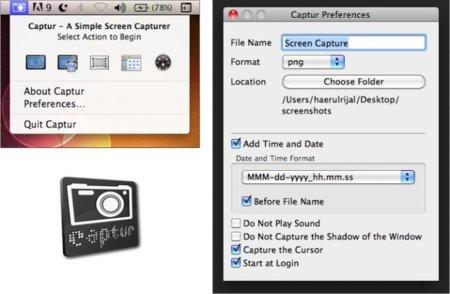Captur, utilidad para realizar capturas de pantalla en nuestro Menú de sistema