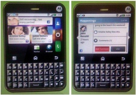 Motorola Charm, otro Android con teclado QWERTY en el horizonte