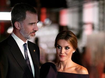 Le reina Letizia deslumbra con su look en la entrega de premios del deporte