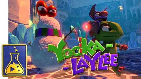 Yooka-Laylee nos muestra un escenario invernal y encantador