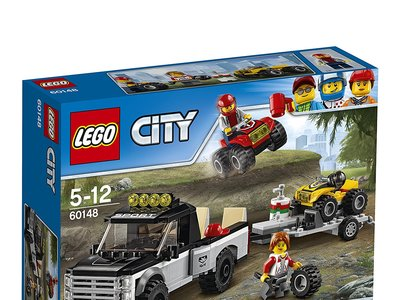 El set de Lego City: Todoterreno del equipo de carreras está a la venta por 13,44 euros en Amazon