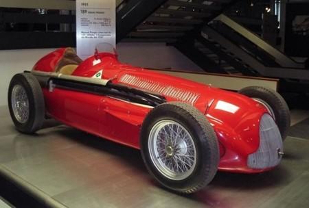 Monoplaza F1 Alfa Romeo 1951