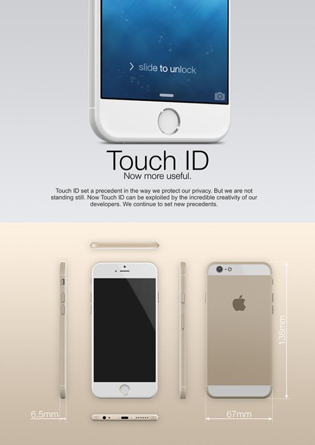 Grafismo iPhone 6