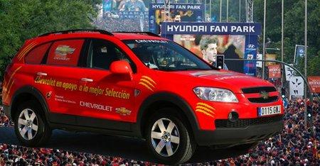 Chevrolet o Hyundai. ¿Cual ha sido la marca de coches más identificada con la selección?
