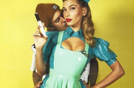 Hailey Bieber se convirtió en la enfermera Ratched para Halloween y su disfraz es lo mejor que hemos visto