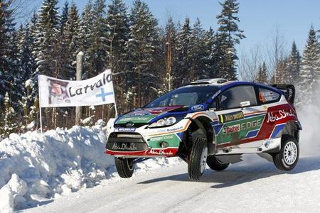 Jari-Matti Latvala la vuelva liar e interrumpe los test de Ford