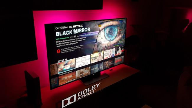 Netflix actualiza su aplicación para tvOS y ya es compatible con audio basado en objetos Dolby Atmos