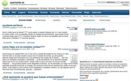Spaniards, españoles en el mundo en contacto