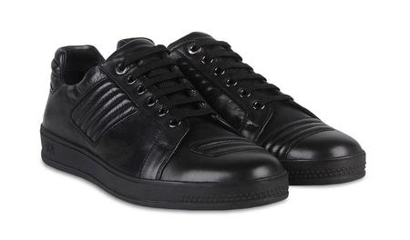 zapatillas negras ermenegildo zegna