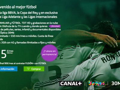Movistar tiene nuevo paquete de fútbol: Liga, partidazo, Copa y ligas europeas por 25 euros