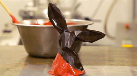 Los conejos de Pascua caleidoscópicos de La Grande Epicerie de Paris