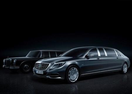 S600 Pullman Maybach, la limusina de Mercedes Benz