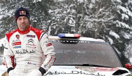 Sébastien Loeb y su test secreto en Cheste con el Citroën DS3 fantasma