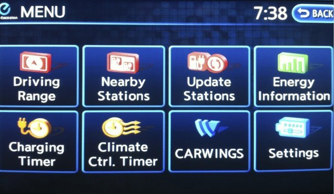 Nissan-LEAF-Carwings-settings
