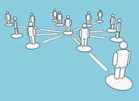Usa las redes de contactos para acceder a tu nuevo empleo