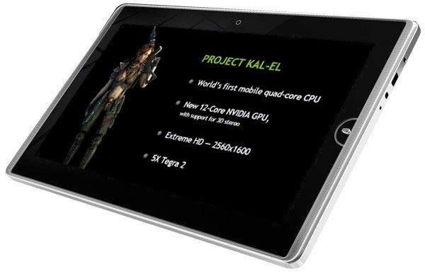 Nvidia Tegra 3 tablet